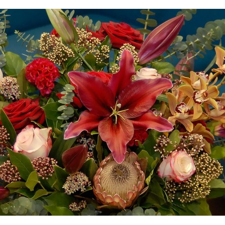 Stems bespoke range of luxury flowers