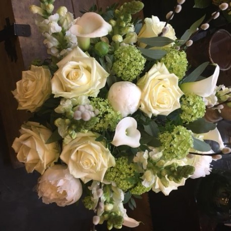 Dreamy White Bouquet