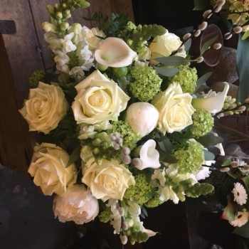 Luxury White Bouquet