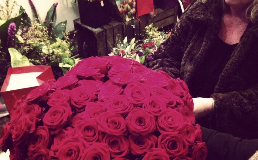 Send some beautiful flowers on Valentine's Day