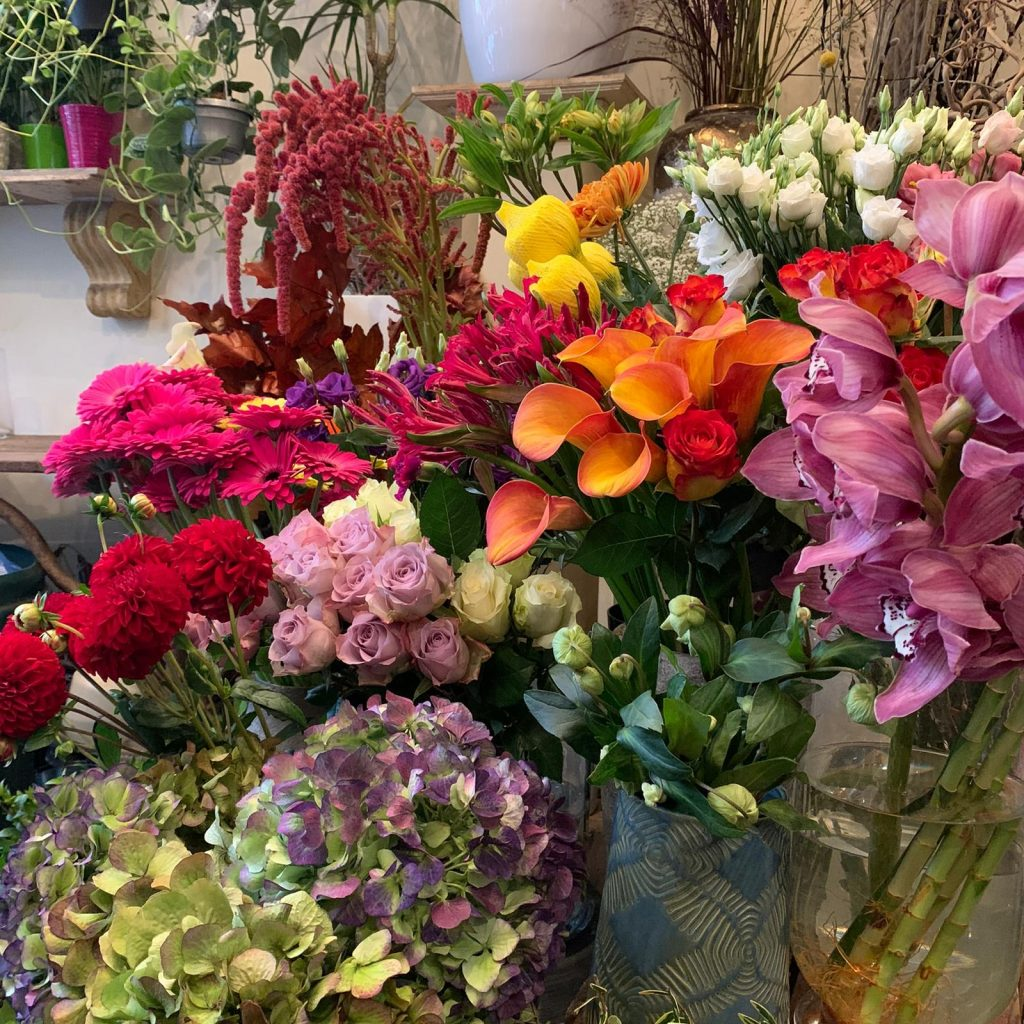 Flower shop in Bloomsbury, Stems of Holborn